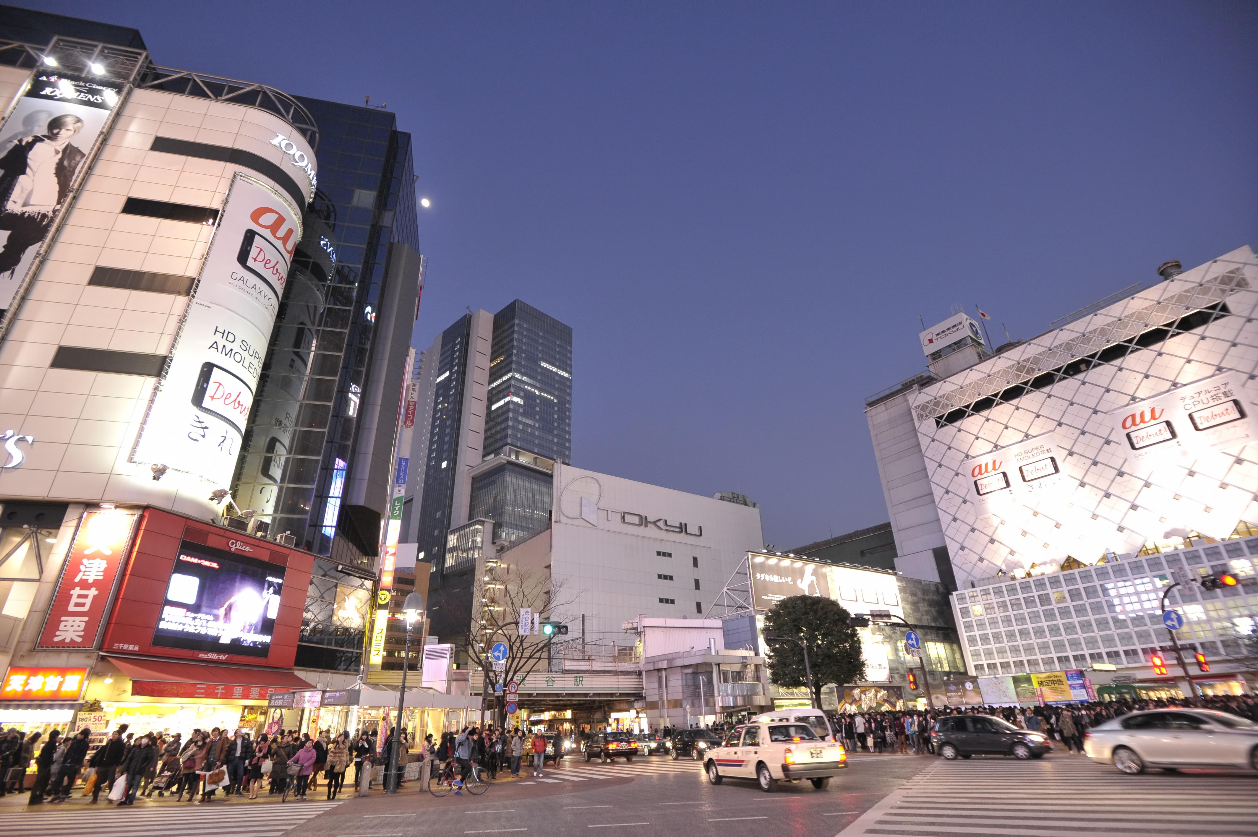 渋谷交差点【JY20 渋谷駅】