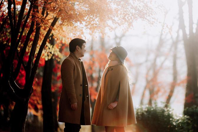 Daniel and Cristia Engagement | Seoul, South Korea