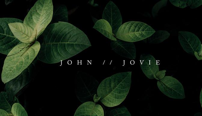 The Wedding of John and Jovie