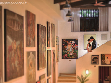 #ACloveandcoffee : Arlon and Clarize's prewedding at Pinto Art Gallery
