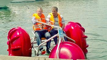 Su Sporları ve kiralama için deniz bisikletleri