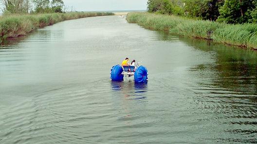 Göl ve durgun nehirlerde su bisikleti kiralama