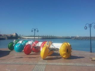 Rengarenk Deniz Bisikletleri Samsunda