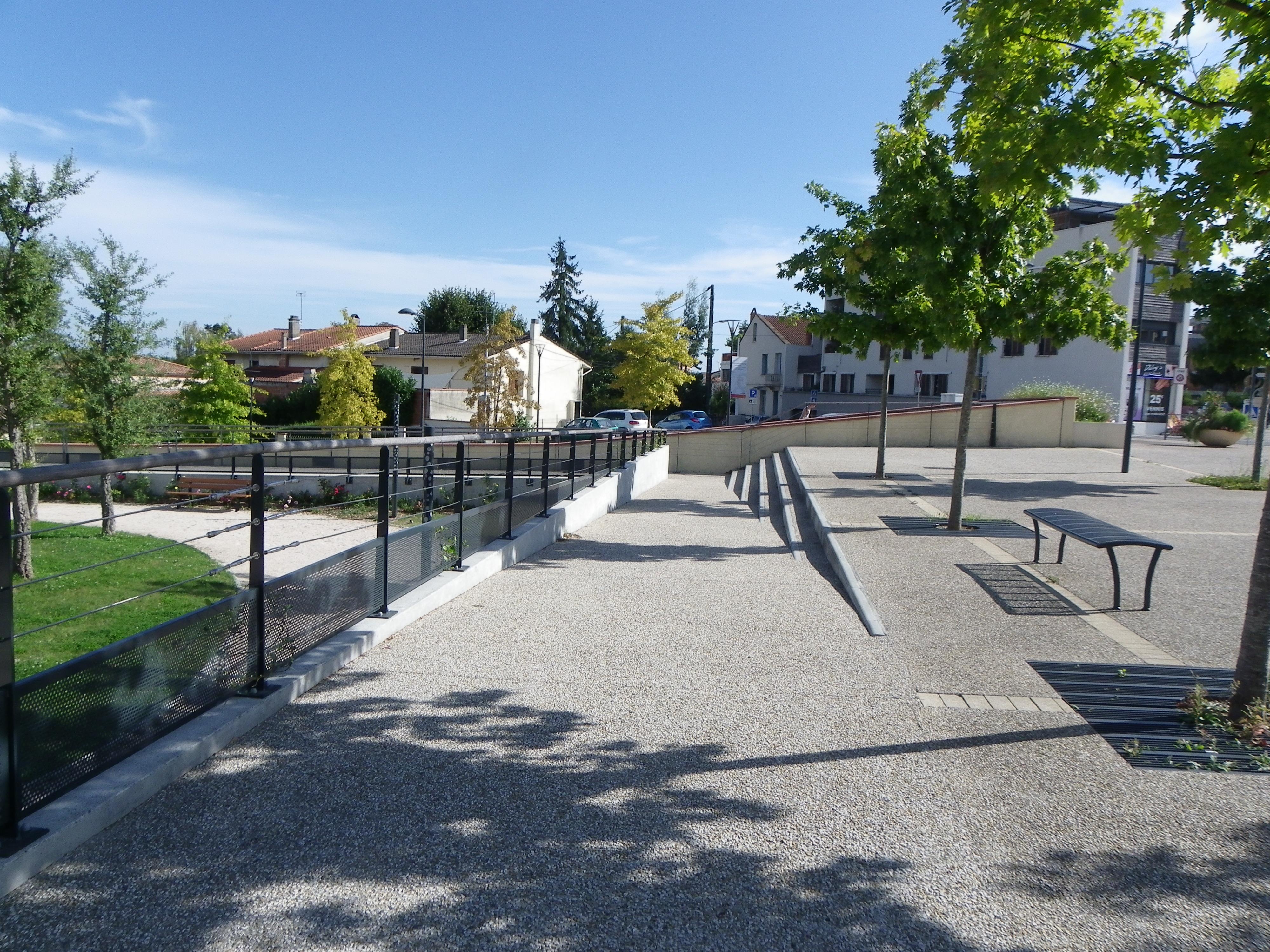 amenagement place urbaine blagnac APUC 5
