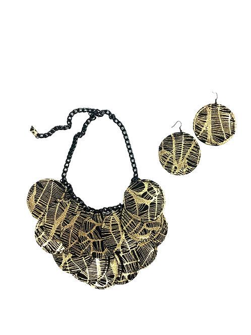 Ecliptic Circle Necklace Set