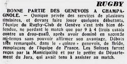 Journal de Genève 9 Mai 1947