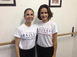 Fabiola Ambrosio e Karina Rezende
