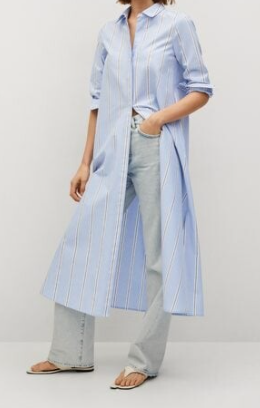 styling a poplin shirt with jeans