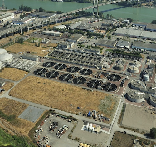 Annacis Island Waste Water Treatment Plant