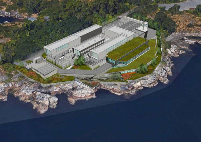 Annacis Island Watse Water Treatment Plant