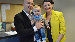 Infant Development Program Receives $10,000 Donation From Donnellan Family