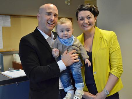 Infant Development Program Receives $10,000 Donation From Donnellan Family