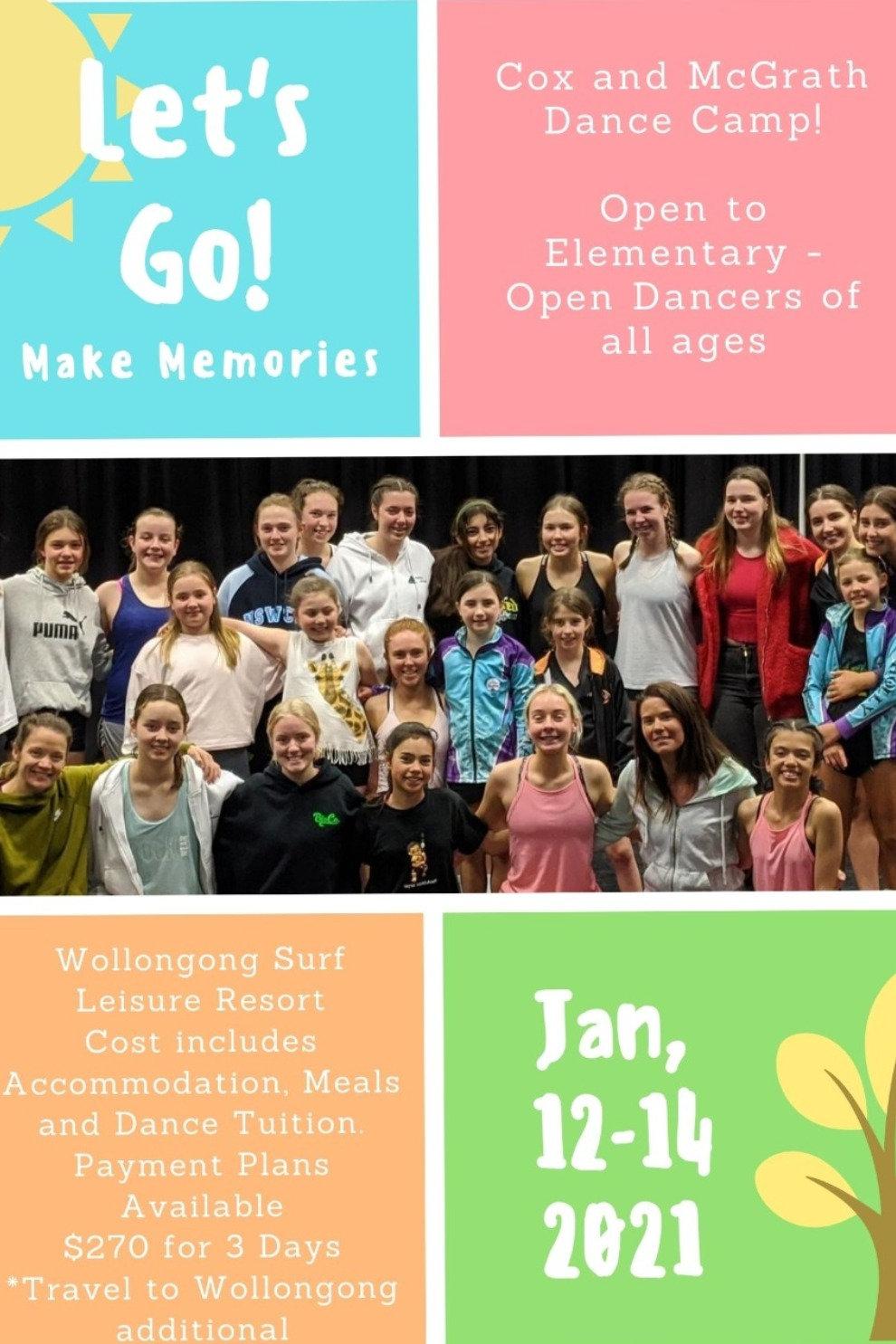 Cox McGrath Dance Camp