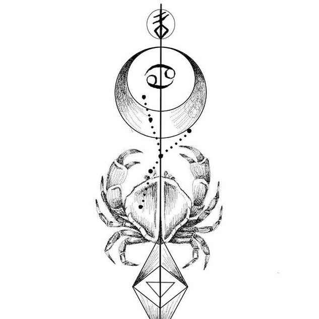 Zodiac design _CANCER_._._DM for designs