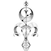 Zodiac Design✨🌹💉_ARIES_._._DM_._#tatto