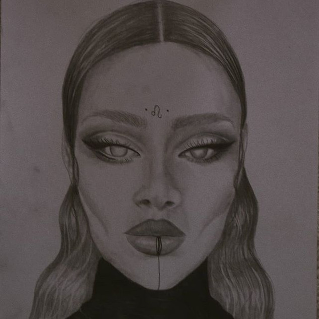 LEO♌_Witches Collection _#art #zodiac #c