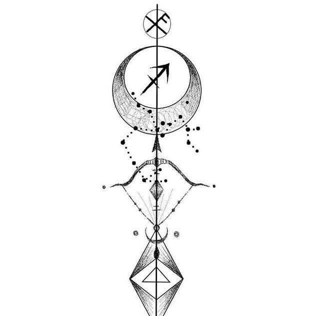 Zodiac design 💉🌹_SAGITARIO ._._._DM pa