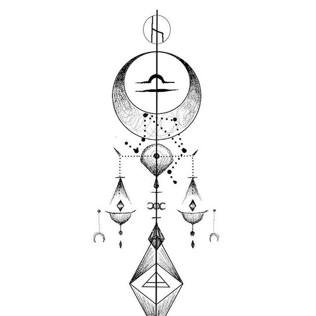 Zodiac design_LIBRA_._._DM for designs_.