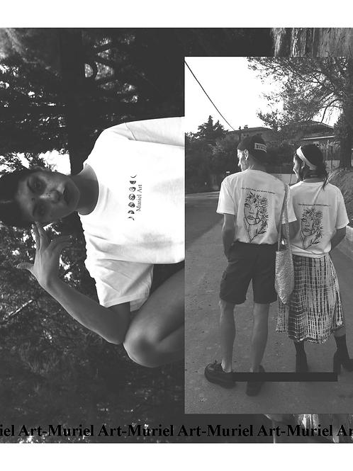 Camiseta Rosas