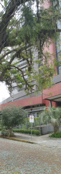 Vista do prédio