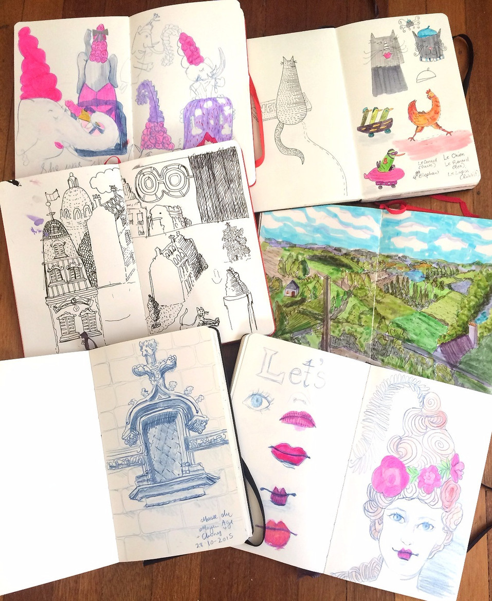 ONE SKETCHBOOK AT A TIME...