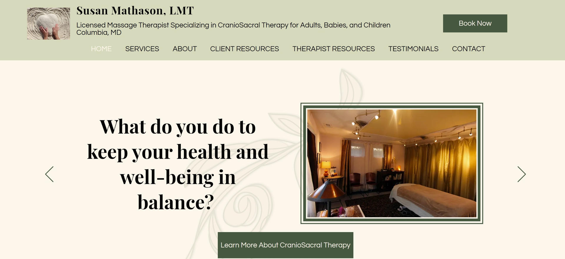 Susan Mathason, Licensed Massage Therapist