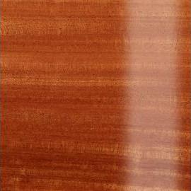 Natural Transparent High Polish Mahogany