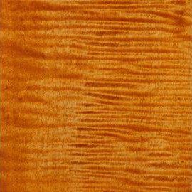 Bleached Amber Transparent Satin