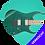 Thumbnail: RG421MSP - Turquoise Sparkle (TSP)