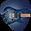 Thumbnail: AZ 226 PB - Cerulean Blue Burst