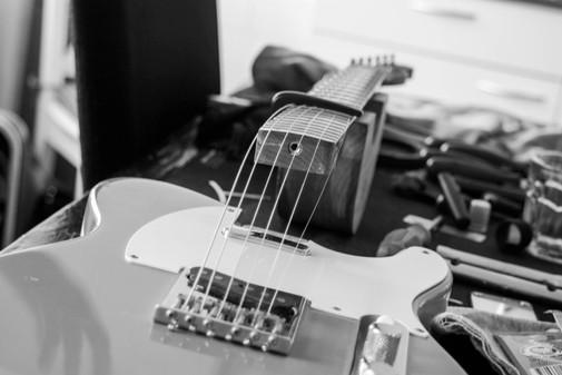 gitaar met losse nek