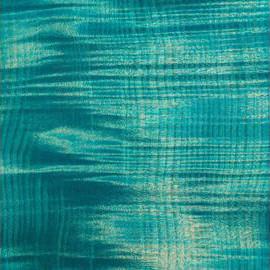 Bleached Tourquoise Blue Transparent Sat