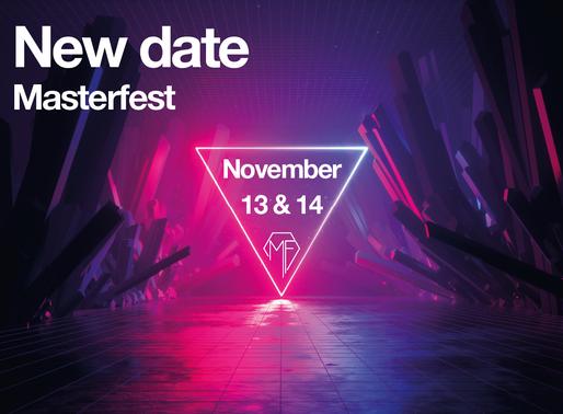 The show must go on: nieuwe datum in november!