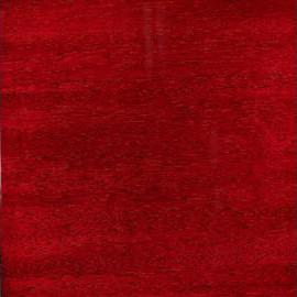 Burgundy Red Transparent Satin Mahogany