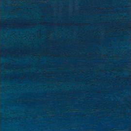 Ocean Blue Transparent Satin Mahogany