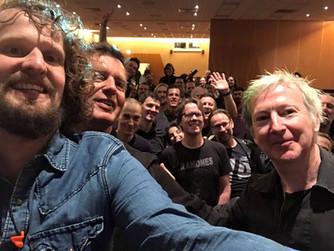 Selfie met Gerry Leonard!