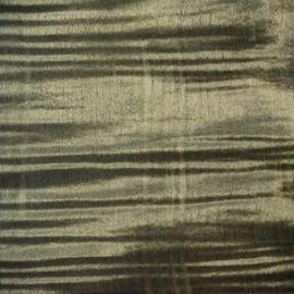 Bleached Nirvana Black Transparent Satin