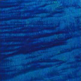 Ocean Blue Transparent Satin Ash