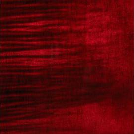 Burgundy Red Transparent Satin Maple