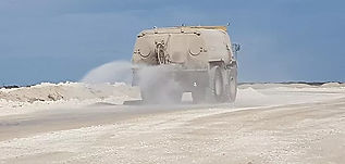 caminos, problema de polvo, vehículos