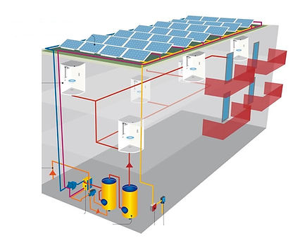 Rendimiento más eficiente, panel solar híbrido