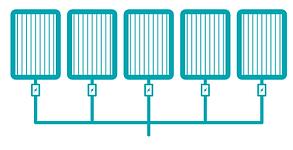 microinversores, panel solar