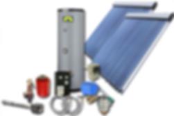 Calefacción solar by eco07.com