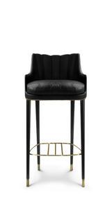 Plum Bar Chair