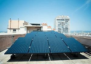 panel solar híbrido, fotovoltaico y térmico