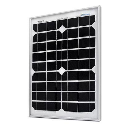 ACOPOWER 20 Watts Mono Solar Panel, 12V