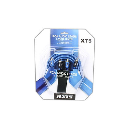 AXIS RCA Stereo Leads - 5m