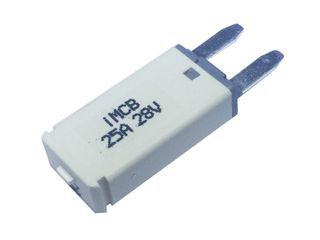 Manual Reset Circuit Breaker Mini Blade (25A)