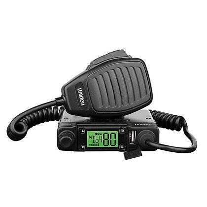 UNIDEN UHF 80CH MOBILE RADIO + AT500BK2