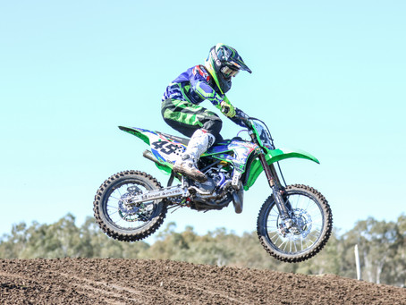 8TH BEST IN WORLD 2018 JUNIOR  MOTOCROSS TITLE HORSHAM AUSTRALIA